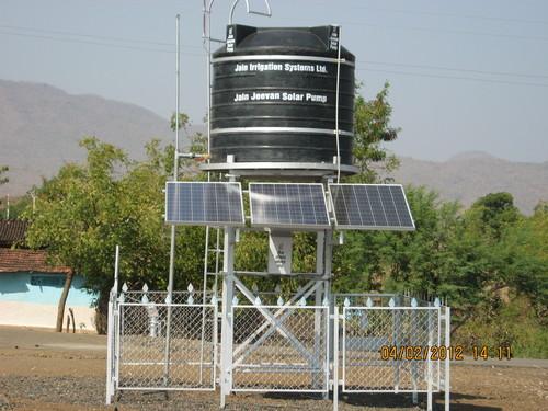 Solar Water Pumping System in   Vidya Nagar