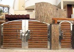 Stylish Stainless Steel Gates in  Kundrathur Road