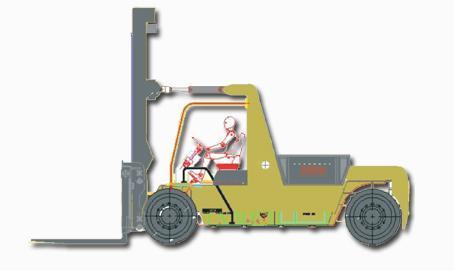 12 Ton Capacity Forklift (Lta 12)