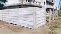 Cement Folding Compound Wall