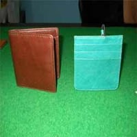 Cyan Brown Card Case