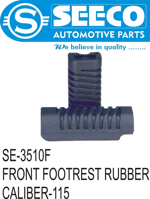 Front Footrest Rubber Kit