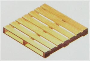 Two Way Double Deck Non Reversible Type Light Duty Pallets