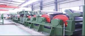 Tension Leveling Machine