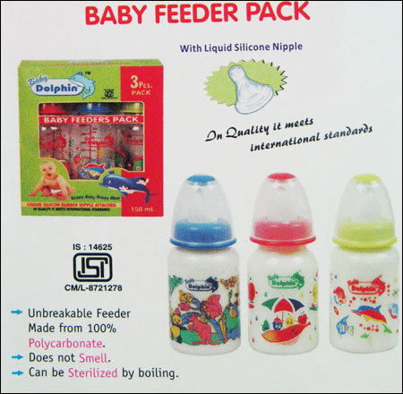 Baby Plastic Feeder Pack