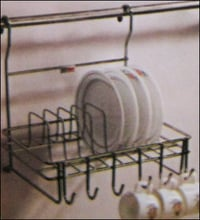 Hanging Cup And Saucer Rack
