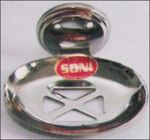 Open Oval Steel Soap Dish