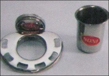 Open Tumbler Steel Soap Dish