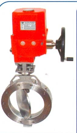 Electrical Acuator Butterfly Valve
