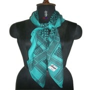 Cotton Printed Square Scarves (Hei-2356)