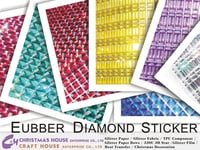 Square Rubber Diamond Sticker