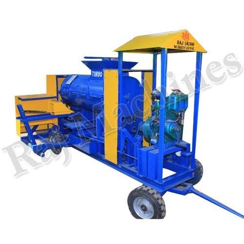 Diesel Engine Brick Making Machinery