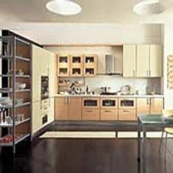 Open Modular Kitchen Cabinets