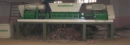 Recycling Shredder