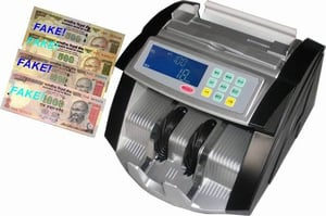 Money Counter With Fake Note Detectors