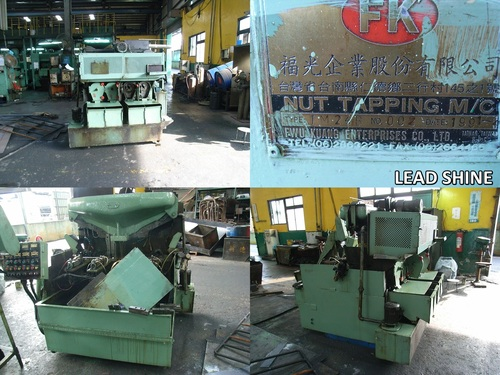 Used F.K. Nut Tapping Machine