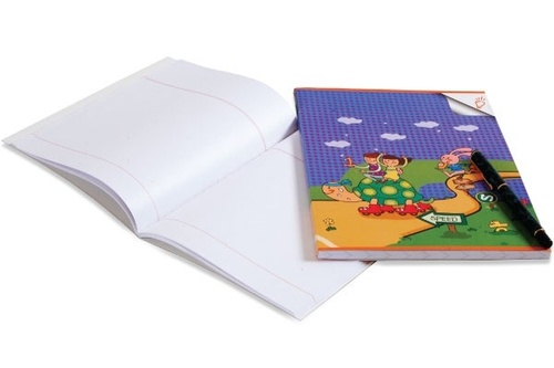 Math Unruled Notebook
