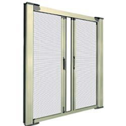 Horizontal Sliding Double Door Mosquito Net