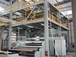 PP Spunbonded Nonwoven Fabric Making Machine in  Metro Tower (Rr)