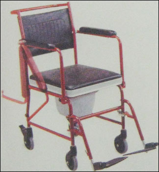 Reclining Commode Wheel Chair (Je692) in  Malad (W)