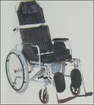 Reclining Commode Wheel Chair (Jje654lgcu)