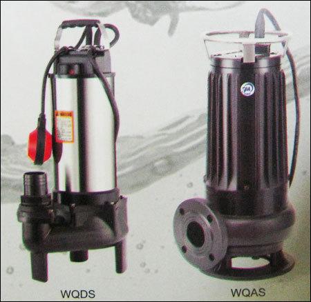 Cutter System Sewage Pump