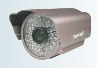 IR Camera with Auto Focus Controllable Zoom Lens
