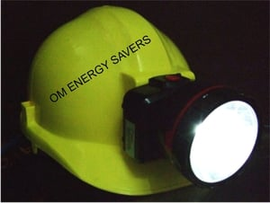 Safety Helmet With Light