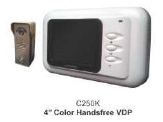 4Inch Color Handsfree Video Door Phone
