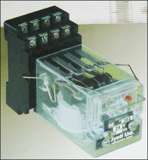 Auxiliary Relay (Voltage Operated Plug-In-Type)