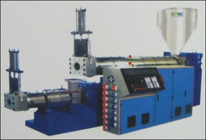 Cascade Type Recycling Extruder Plant