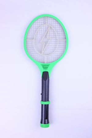 Rechargeable Electric Mosquito Swatter With Flashlight