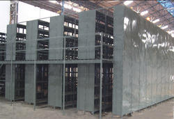 Two Tier Slotted Angle Storage System