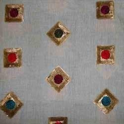 Sequins Embroidered Fabric