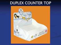 Duplex Counter Top Display
