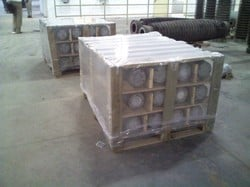 Shrink Packing Of Engineering Products