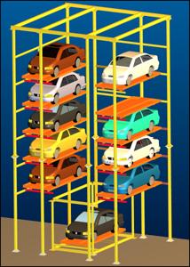 Tower Vertical Car Parking System