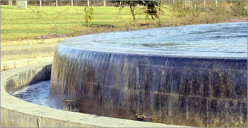 Water Sheet Fountain in  Shahibaug
