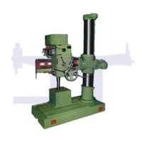 Radial Drill Machine With Electric Panel Box
