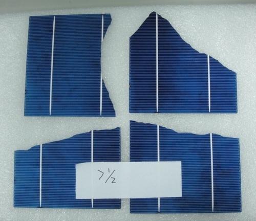 156 Multi 2BB/3BB Mix >1/2 Broken Solar Cells