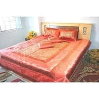 Silk Embroidery Bedspreads