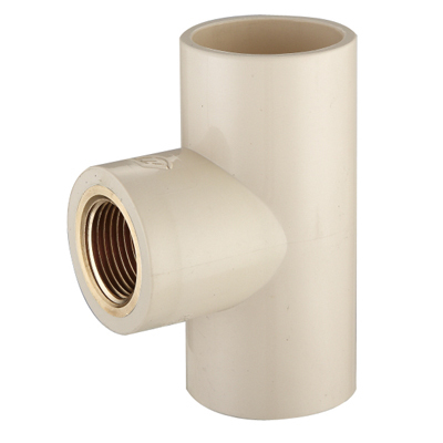 CPVC Brass Thread Tee