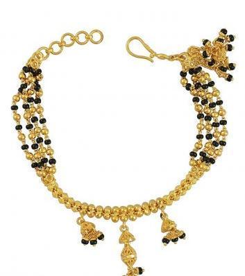 22Kt Fancy Beads Bracelet