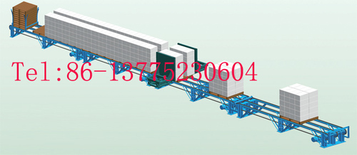 AAC Block Packing Line