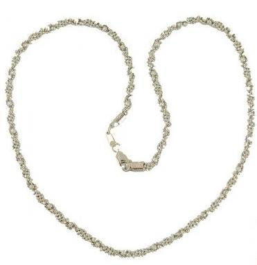 22kt white Gold Chain (Necklace)