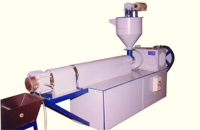 Recycling Plant With Force Feeder