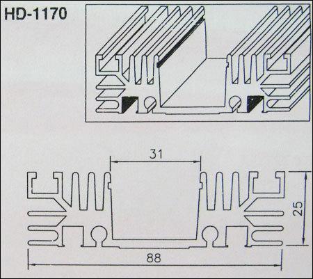 Heat Sink (Hd-1170) in Mumbai, Maharashtra - Mecos India