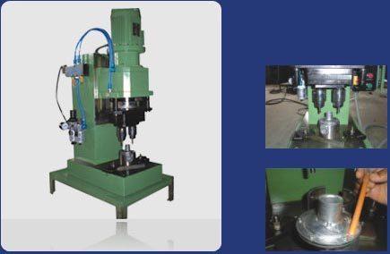 Multi Spindle Head Riveting Machine
