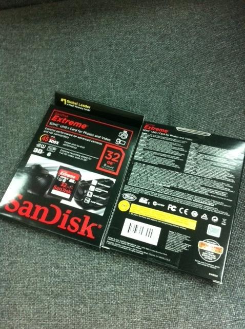SanDisk Extreme SD Flash Cards