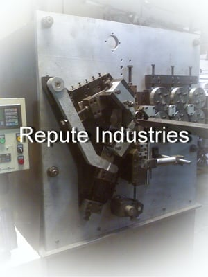 Special Purpose Rolling Shutter Spring Coiling Machine